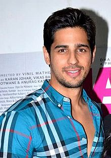 About Sidharth Malhotra Actor Biography Detail Info