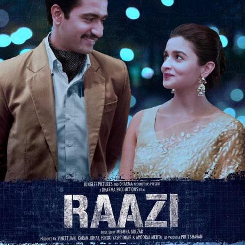 Raazi Hindi Movie Live Review & Ratings